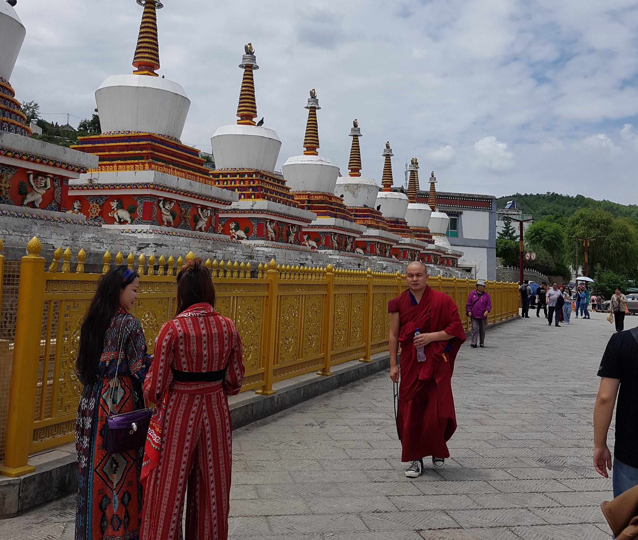 Kumbum monastery in Xining