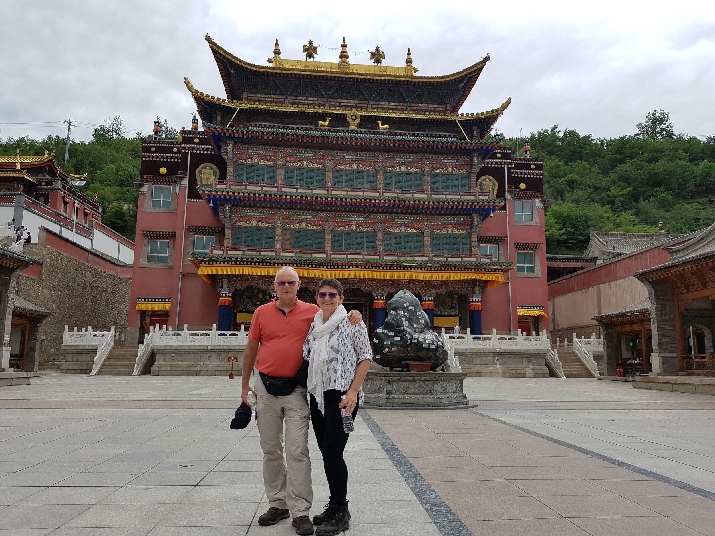 Kumbum monastery prayer hall