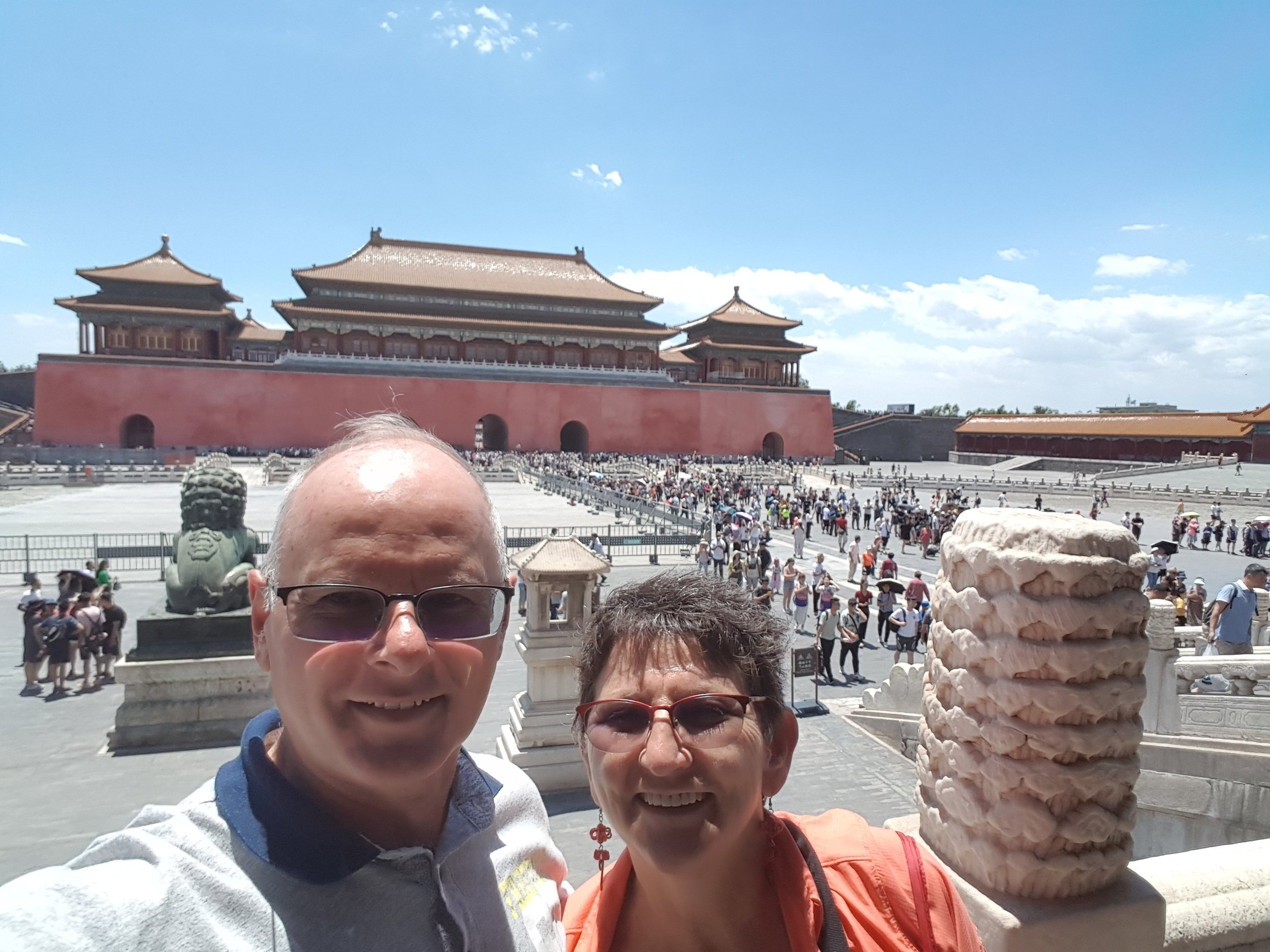Inside the Forbidden City - impressive for its size
