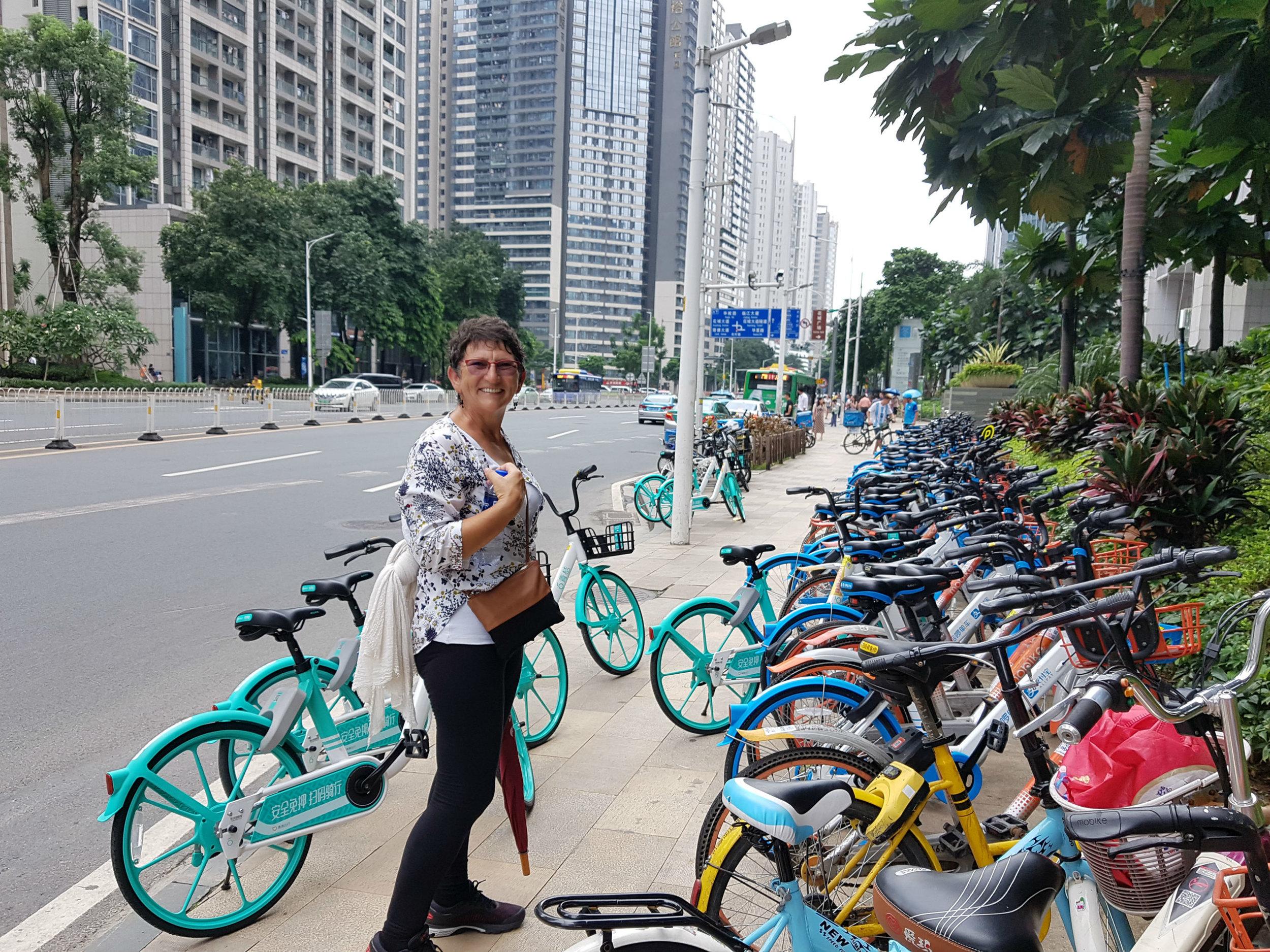 Bike rental in Guangzhou