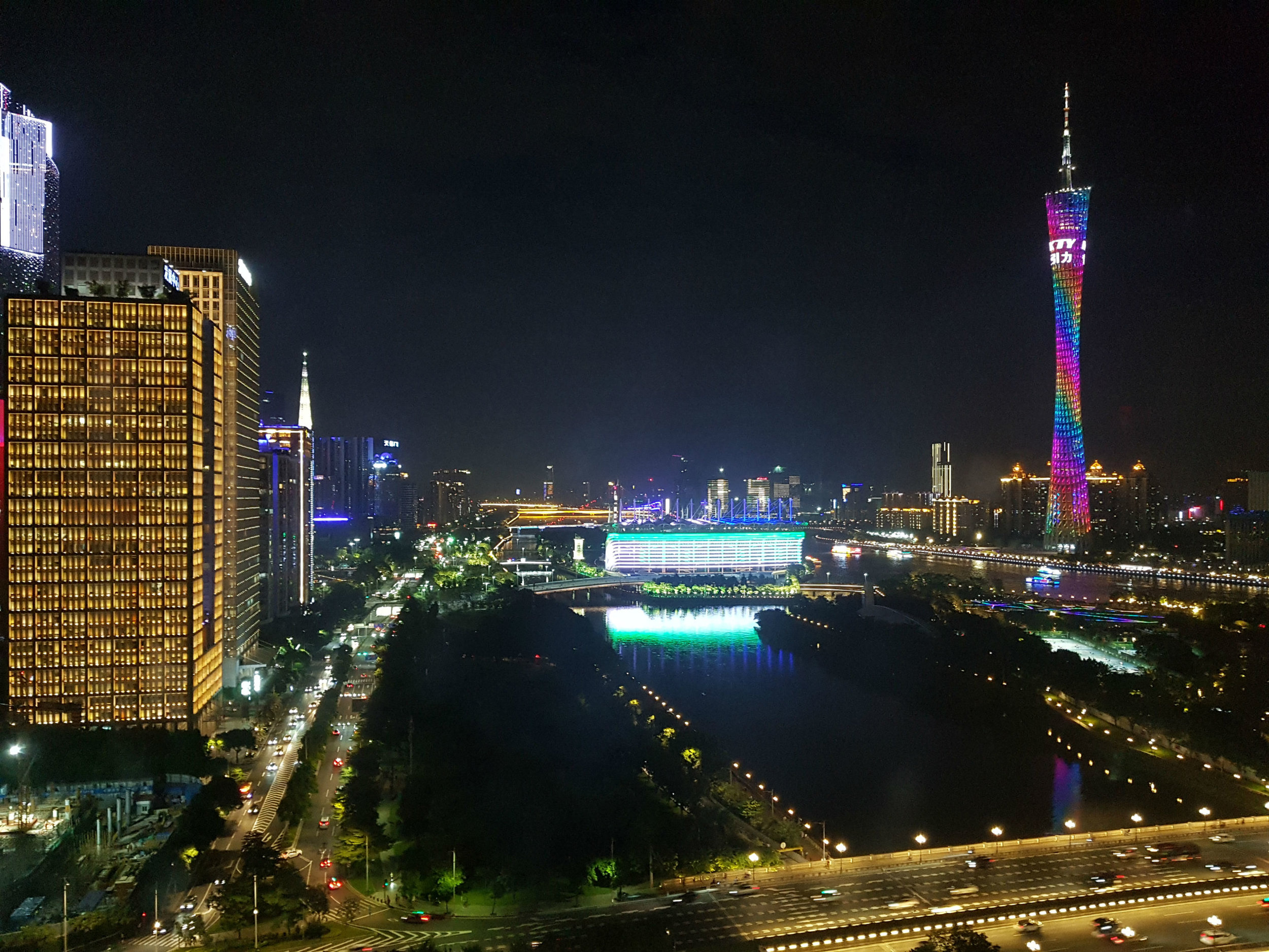 An eye-opening experience, the Skyline Guangzhou - note 650-meter high Cantor Tower