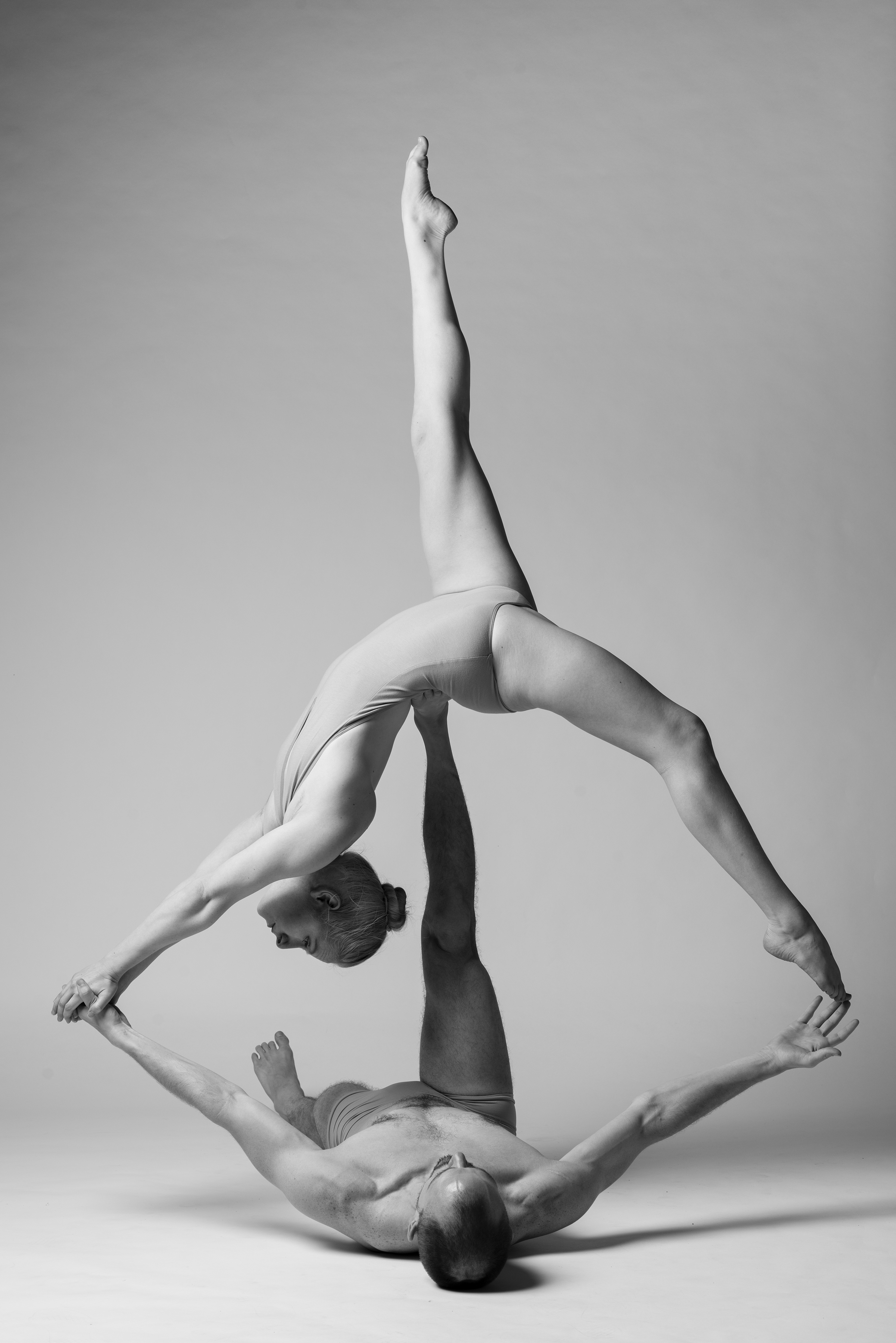 Empowered acro Co-Founders Chris Cox and Katrina Repman