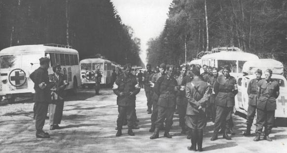Bilden är tagen år 1945.Foto: Svenska Röda Korsets arkiv