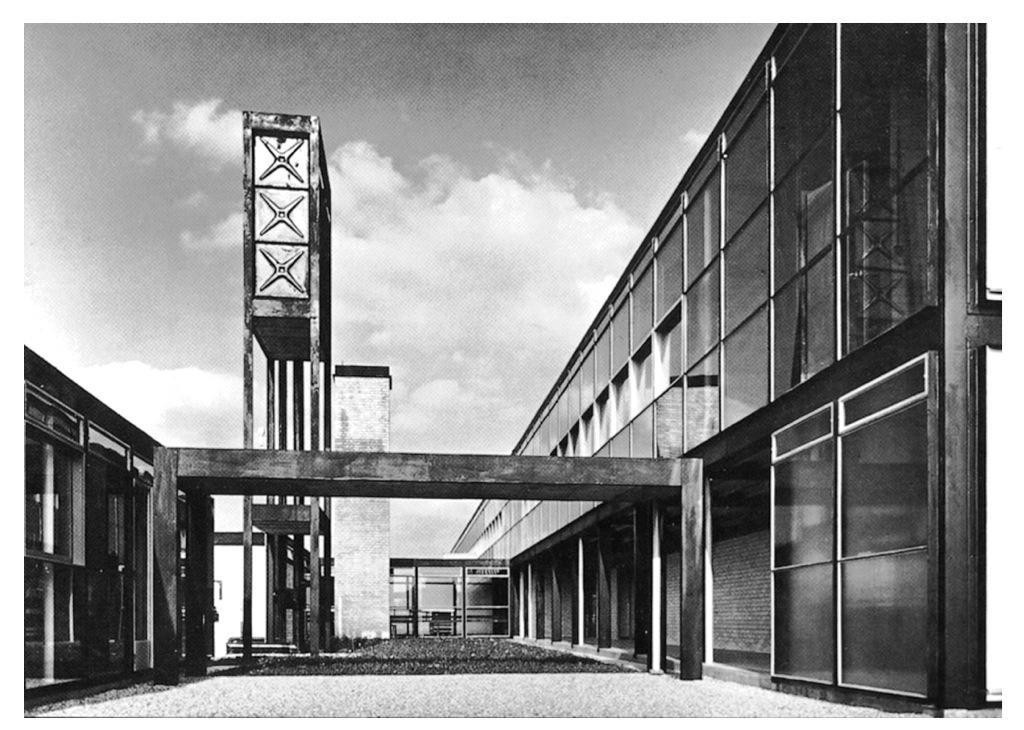 Alison and Peter Smithson, Hunstanton School, 1954