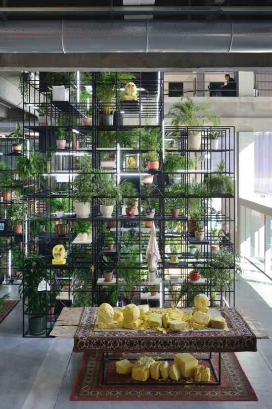 Installation view 2, 'Rashid Johnson. Within Our Gates', Garage Museum of Contemporary Art, Moscow, Russia, 2016.jpg