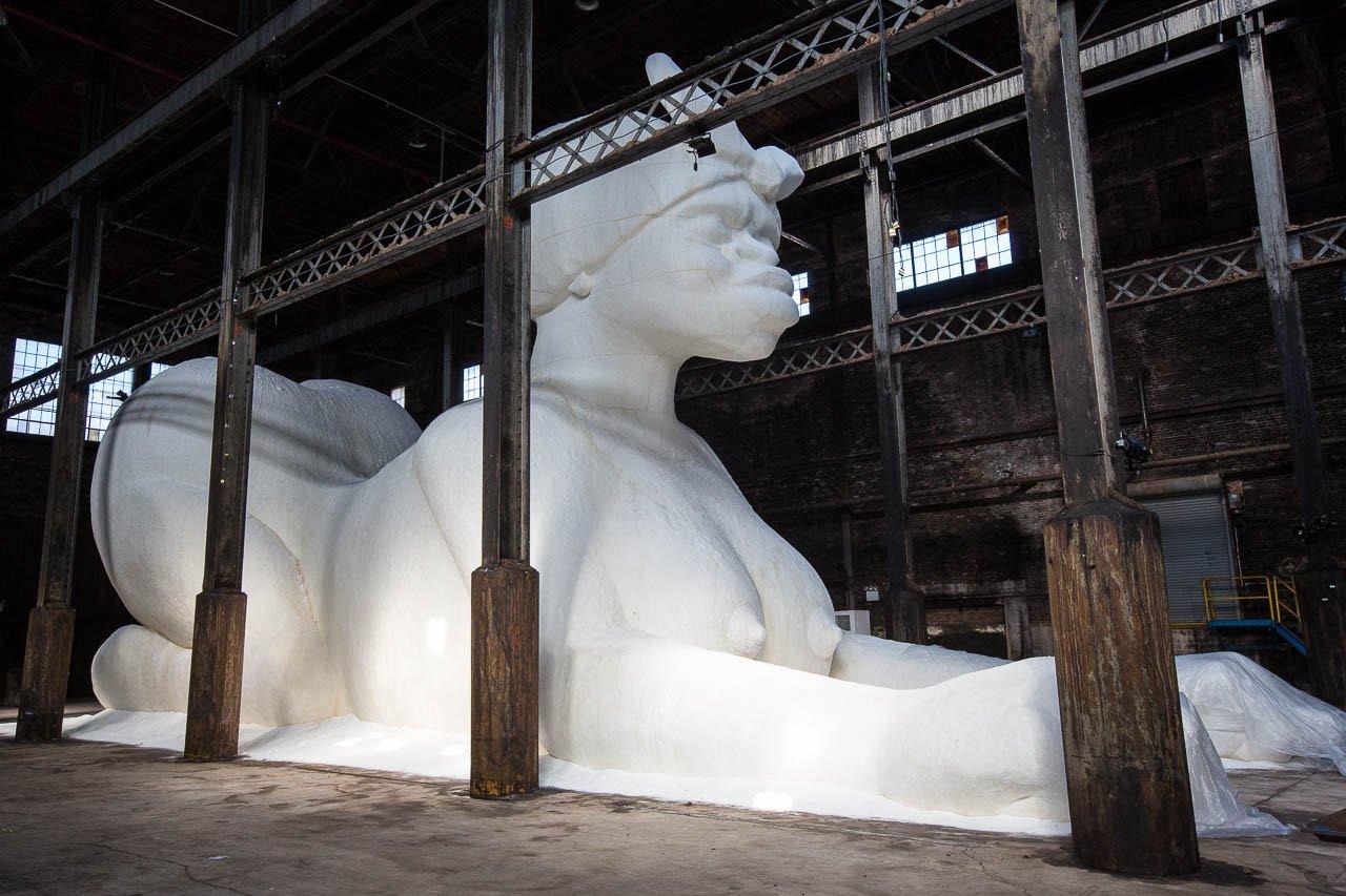 Installation at Domino Sugar Refinery Plant, 2014.jpg