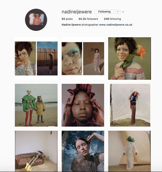@nadineijewere on Instagram