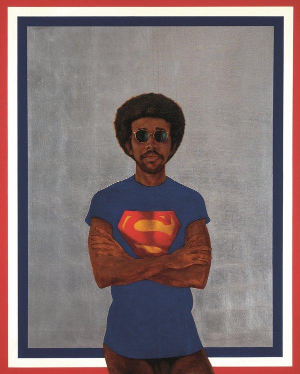 Barkley L. Hendrick,  Icon for My Man Superman (Superman Never Saved any Black People – Bobby Seale)  1969