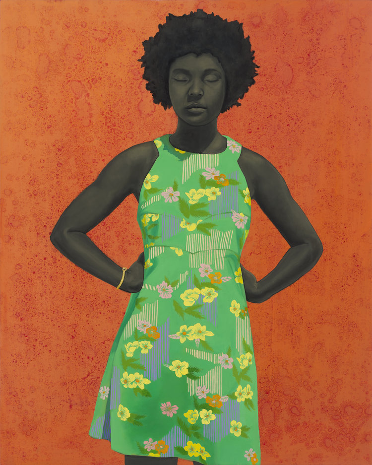 Amy Sherald,  The Make Believer (Monet's Garden),  2016