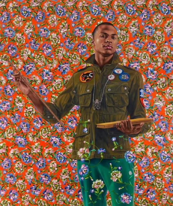 Kehinde Wiley,  Anthony of Padua , 2013