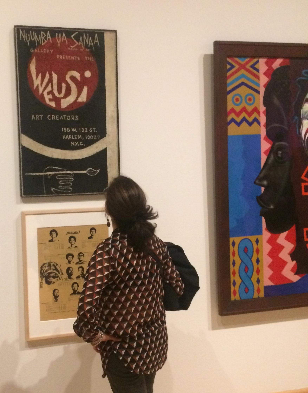 Rudy Irwin (Baba Kachenga),  WEUSI Art Creators , early 1970s