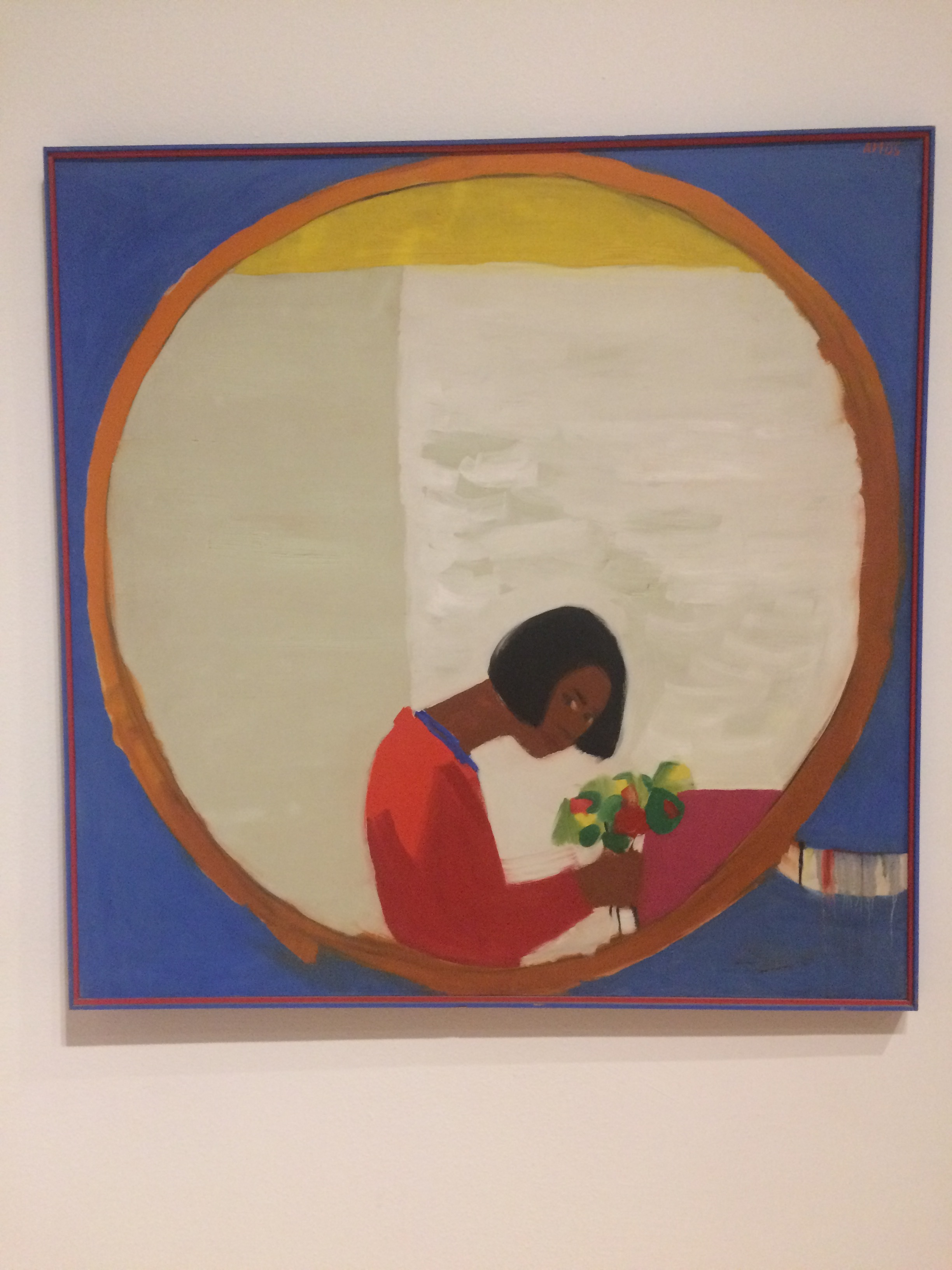 Emmas Amos,  Flower Sniffer , 1966