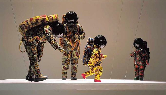 Yinka Shonibare, M.B.E.,  Vacation , 2000 featured in  Authentic/Ex-Centric:  Africa In and Out of Africa