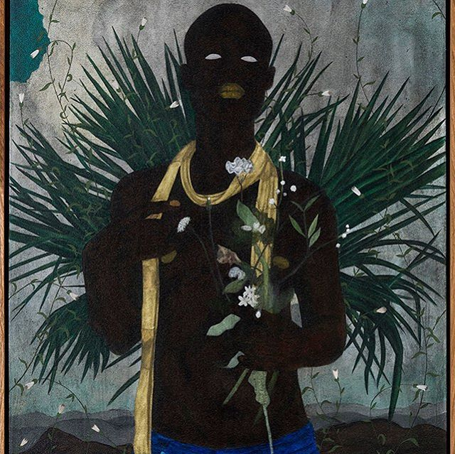 Cinga Samson. Ubuhle beenkanyezi 4, 2018. @blankprojects⠀ .⠀ .⠀ .⠀ .⠀ .⠀ .⠀ .⠀ .⠀ .⠀ .⠀ .⠀ .⠀ .⠀ .⠀ .⠀ .⠀ .⠀ #cingasamson #blackvisualimpulse #blackcontemporaryart #blankproject #contemporaryart #contemporarypainting #supportblackart