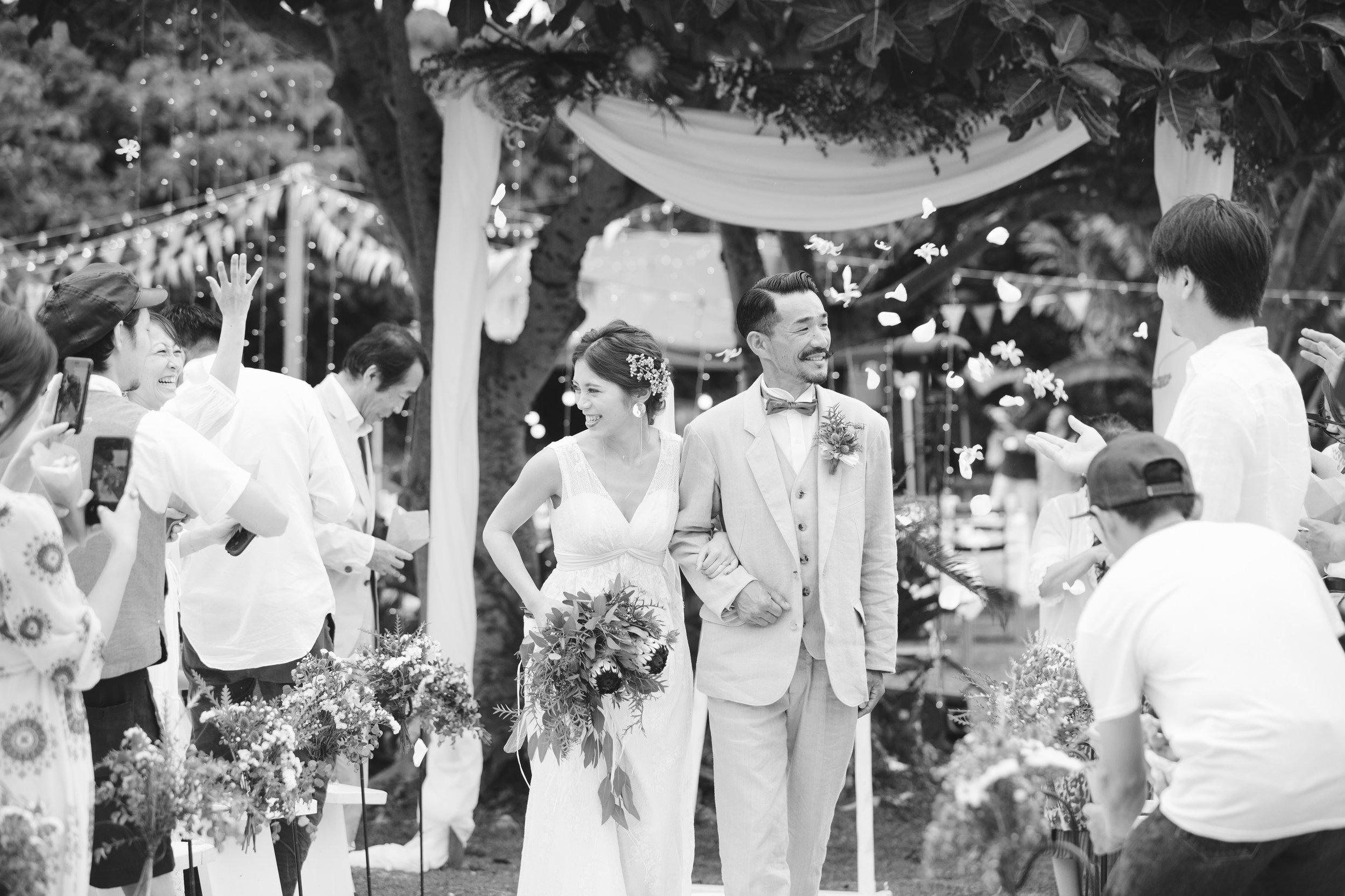 Wedding Day - お二人にとっても最大のビックイベント。お支度,挙式,パーティーまで結婚式当日の撮影です。