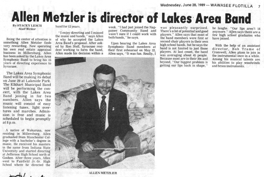 1989 First Director