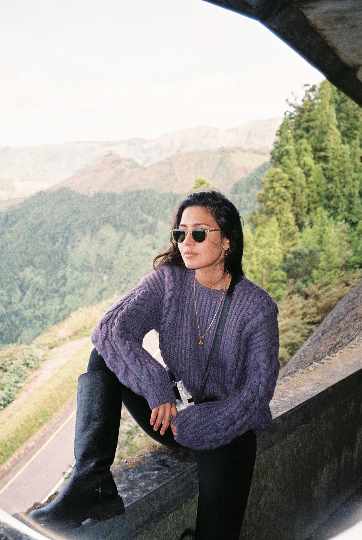 Anita, my friend for over a decade and favourite travel partner.  / Anita, minha amiga há mais de uma década e parceira de viagem favorita.