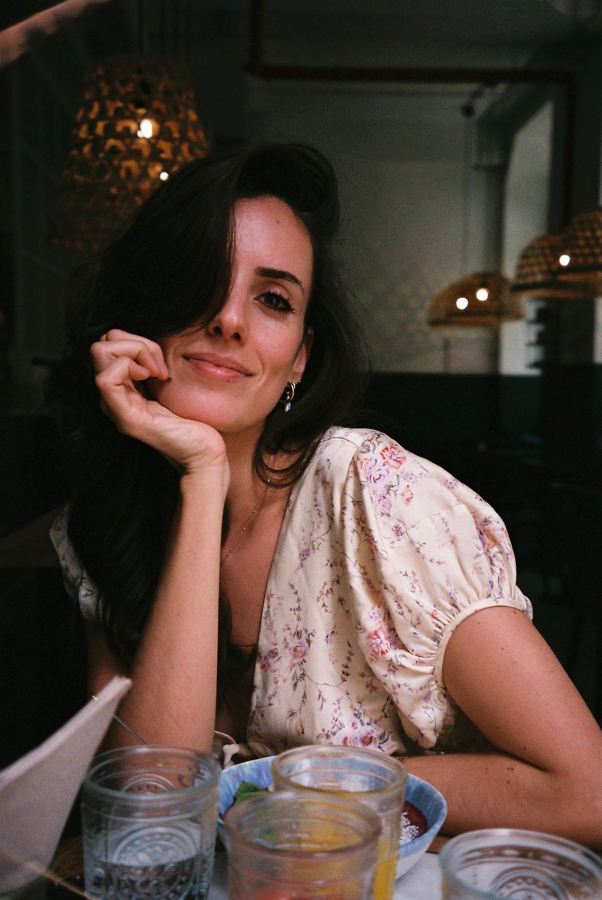 Having lunch with Catarina Pereira at  Cotidiano  in Lisbon. / A almoçar com a Catarina Pereira no  Cotidiano  em Lisboa.