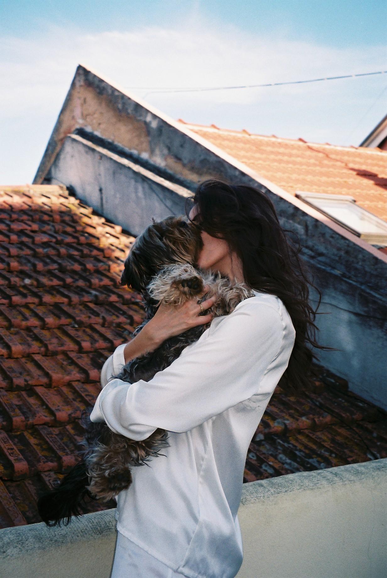 Kenzo, my friend Catarina's dog. / Kenzo, o cão da minha amiga Catarina.