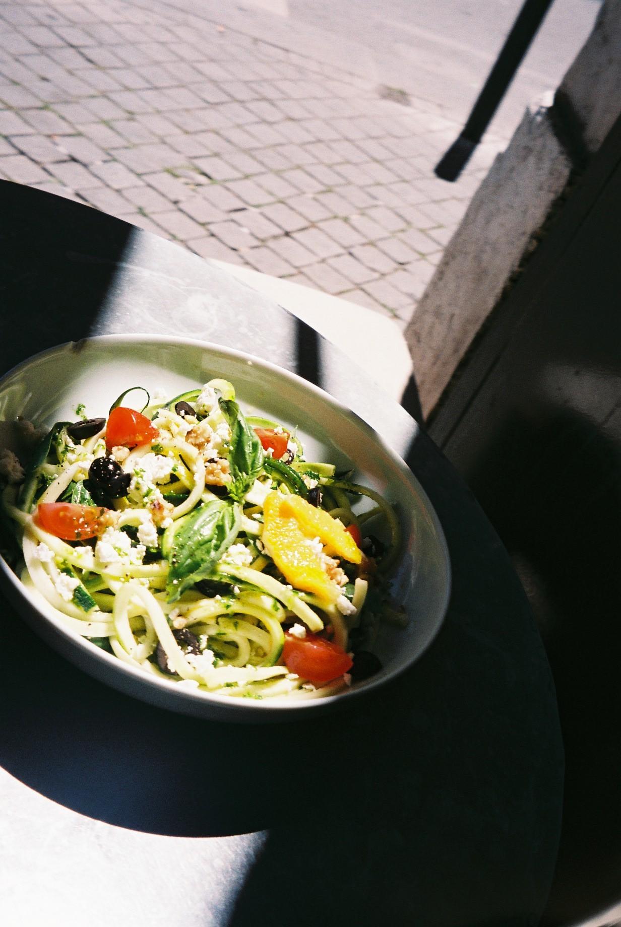 Having lunch by myself in between meetings in café Janis in Lisbon.  / A almoçar sozinha entre reuniões no café janis em Lisboa.