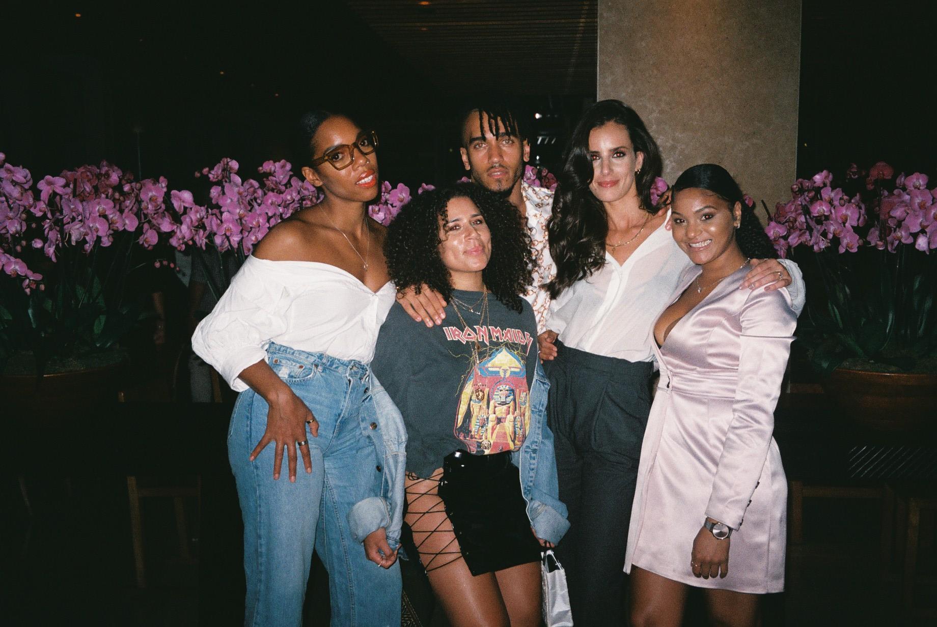 Mary, Chloe, Rycardo, me & Fofa