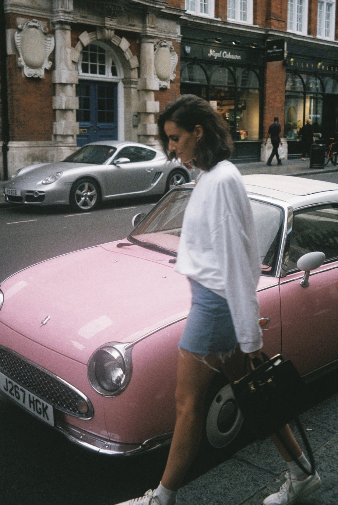 Wearing my favourite    jumper    and the shortest mini skirt ever.  / A usar a minha  sweater  favorita e a mini skirt mais curta de todo o sempre.
