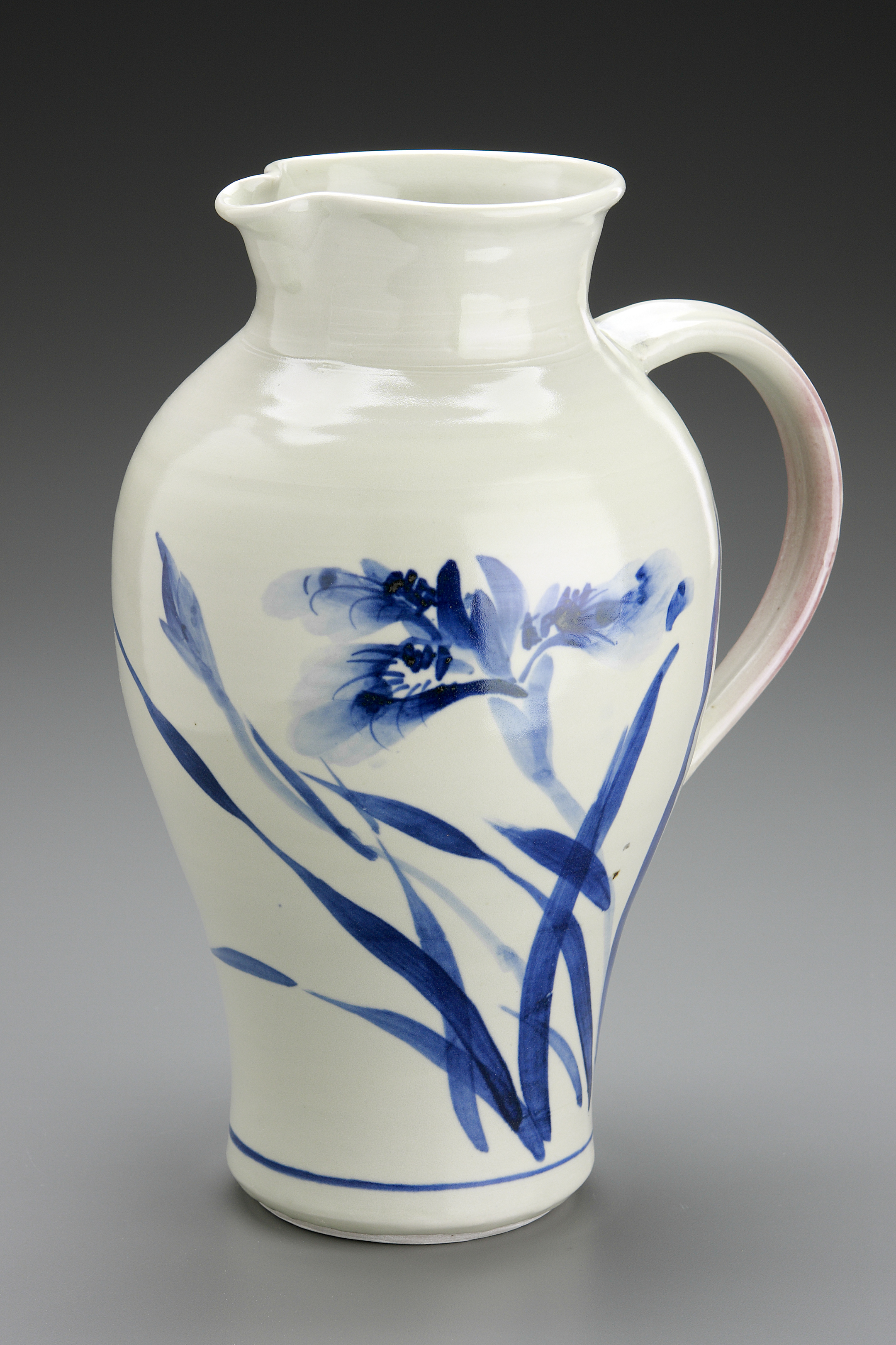 Pitcher with Iris