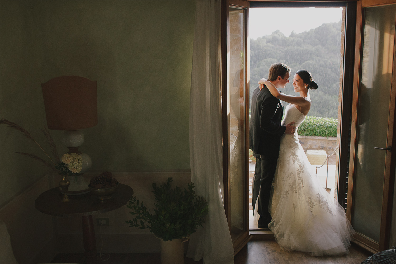 Wedding at Castello Vicarello