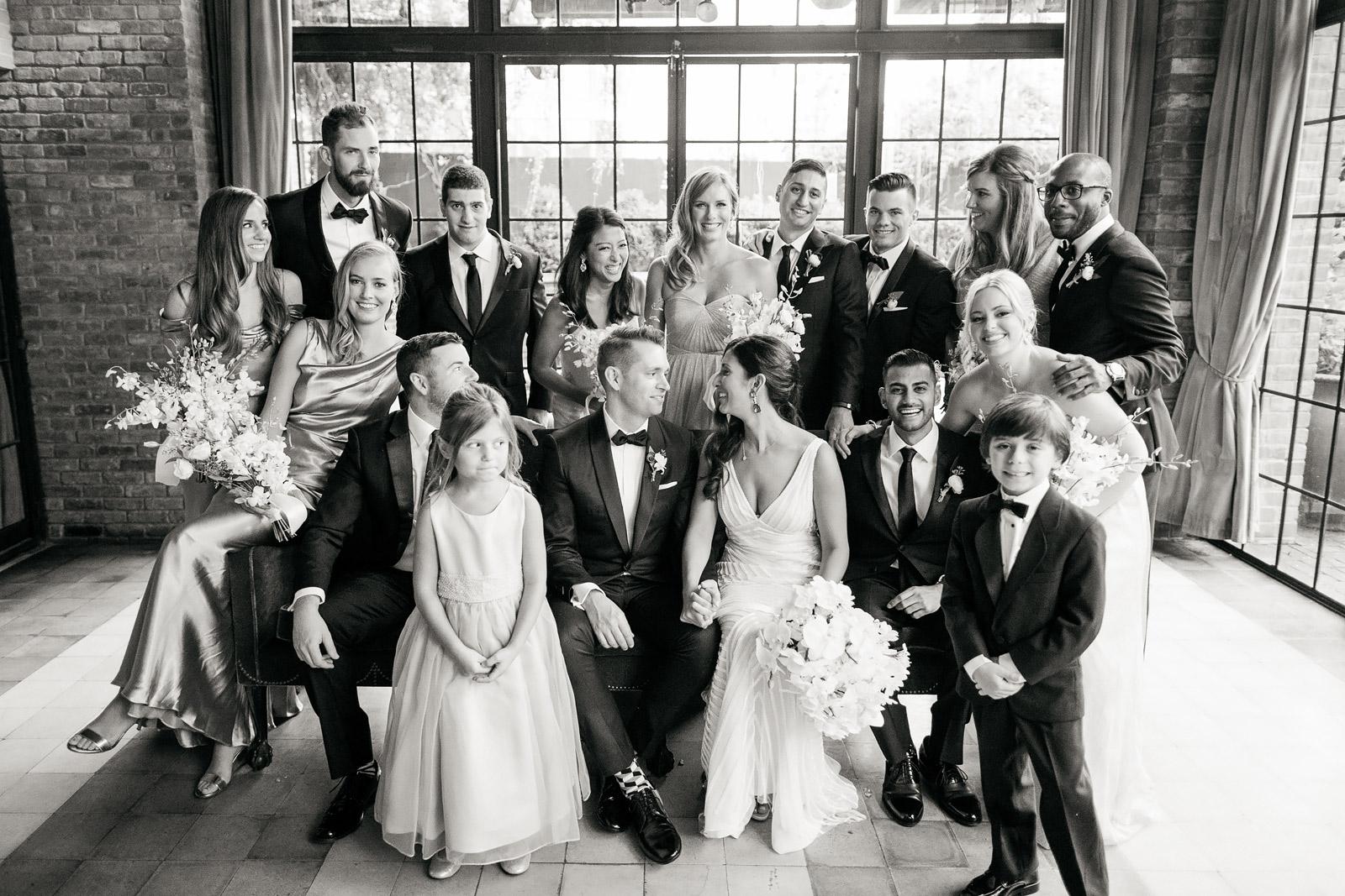 Bridal Party at Bowery Hotel