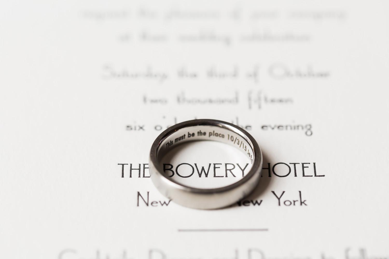 A Wedding At Bowery Hotel