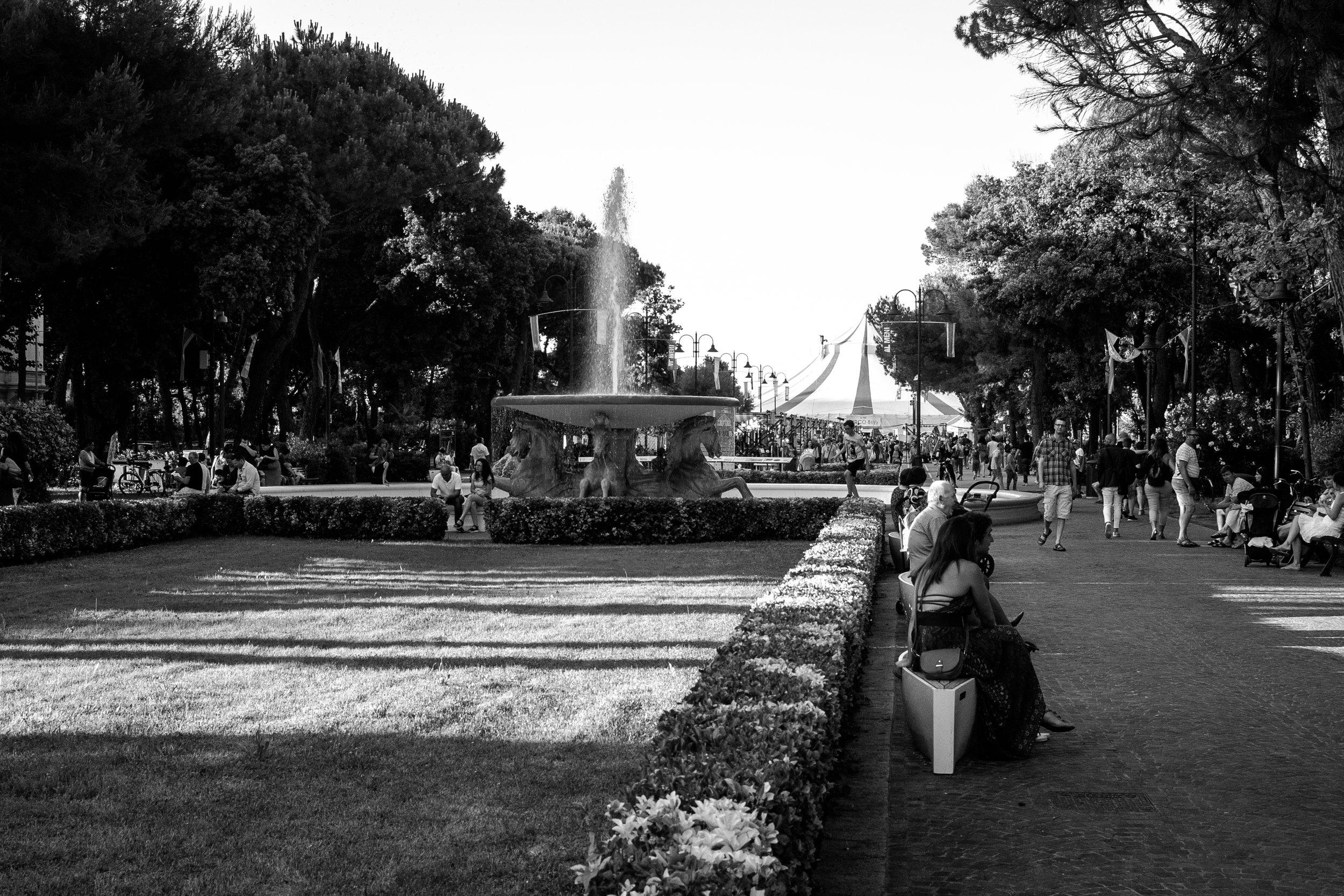 Idyllic scenes from Rimini.