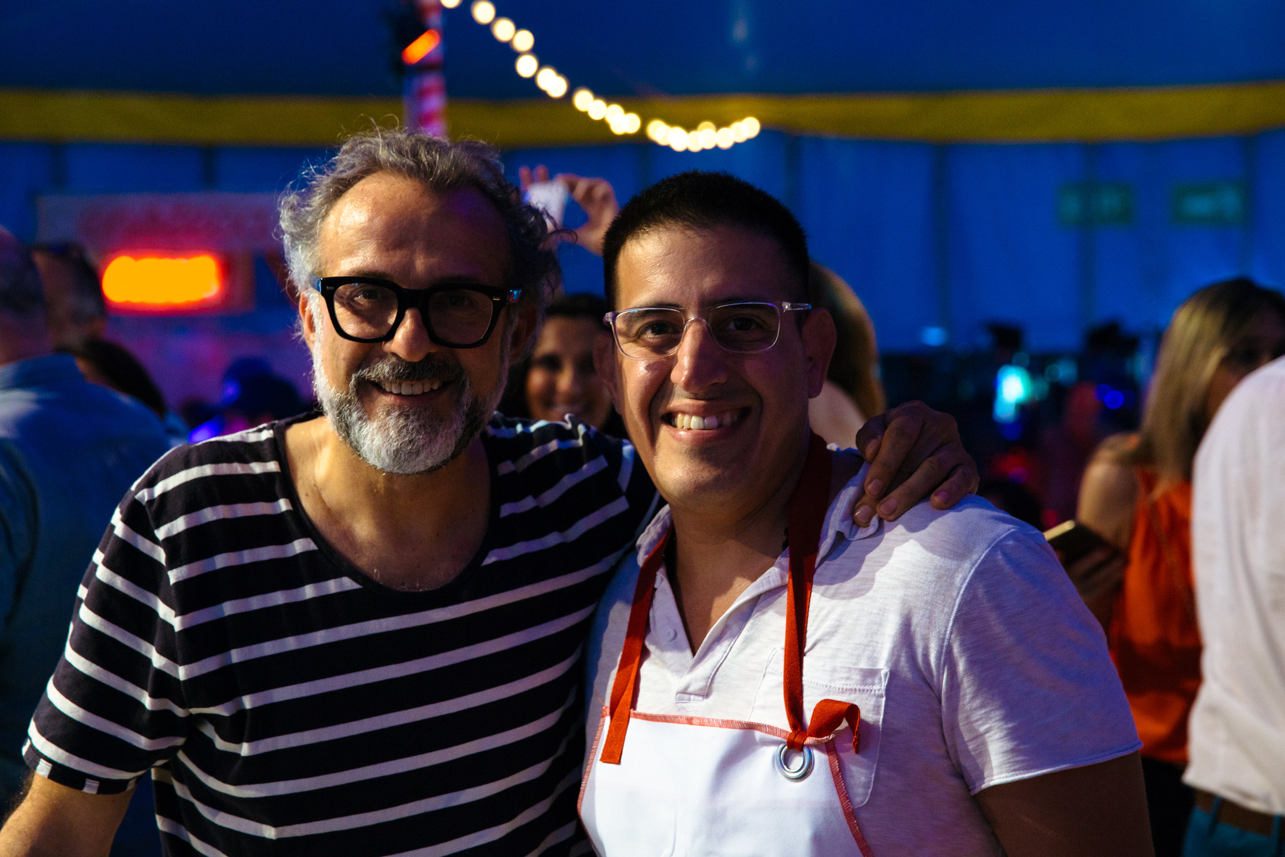 Friends Massimo Buttora & Jefferson Alvarez
