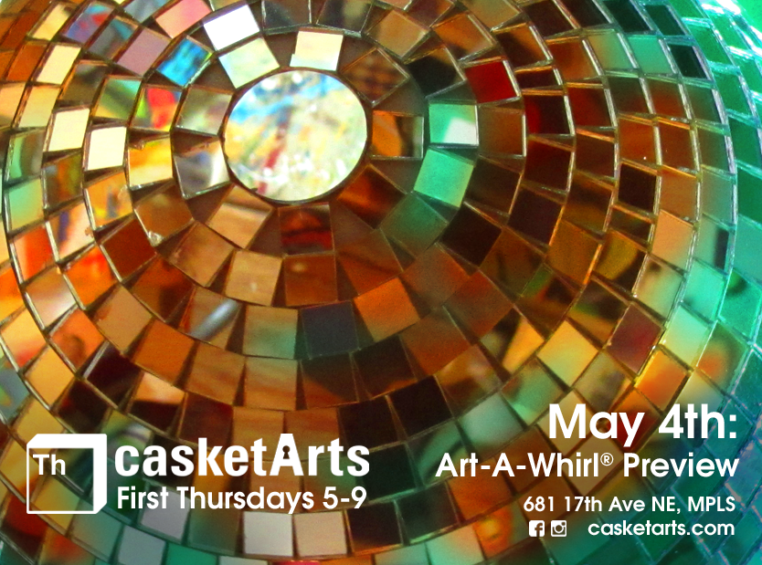May 4th First Thursday Discoball