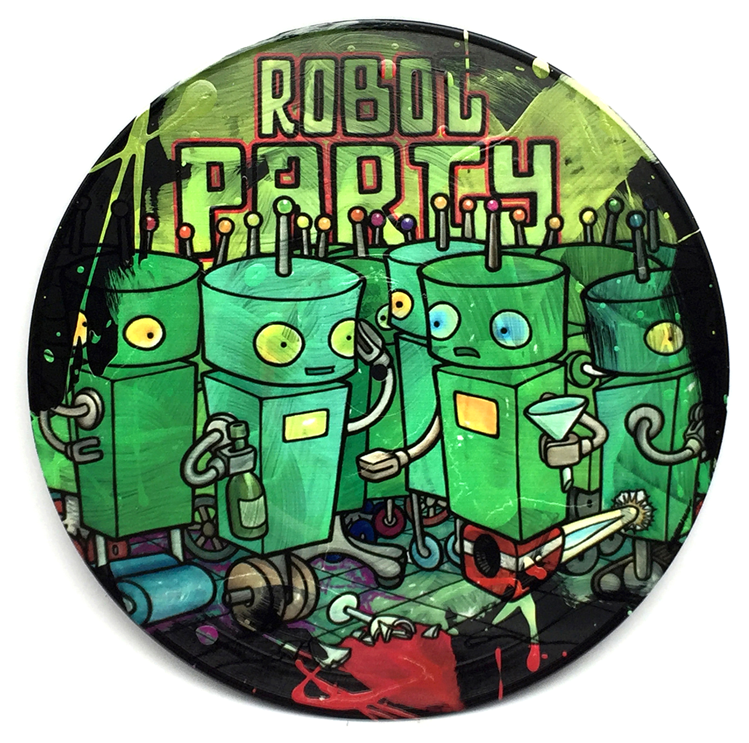 B Sides - Robot Party - click to download hi res file