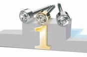 medical ear piercing titanium example