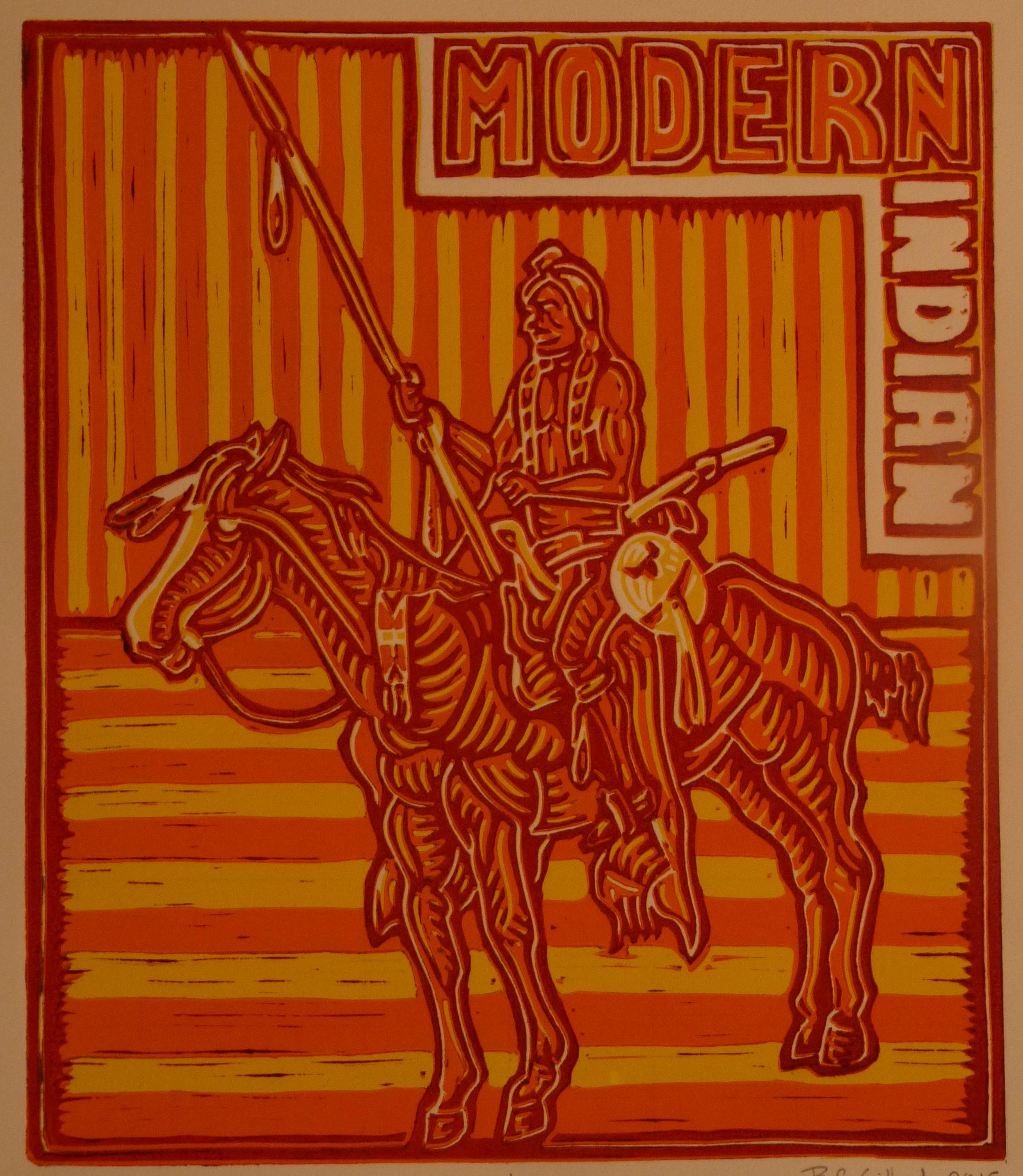 Modern Indian, Osage Orange