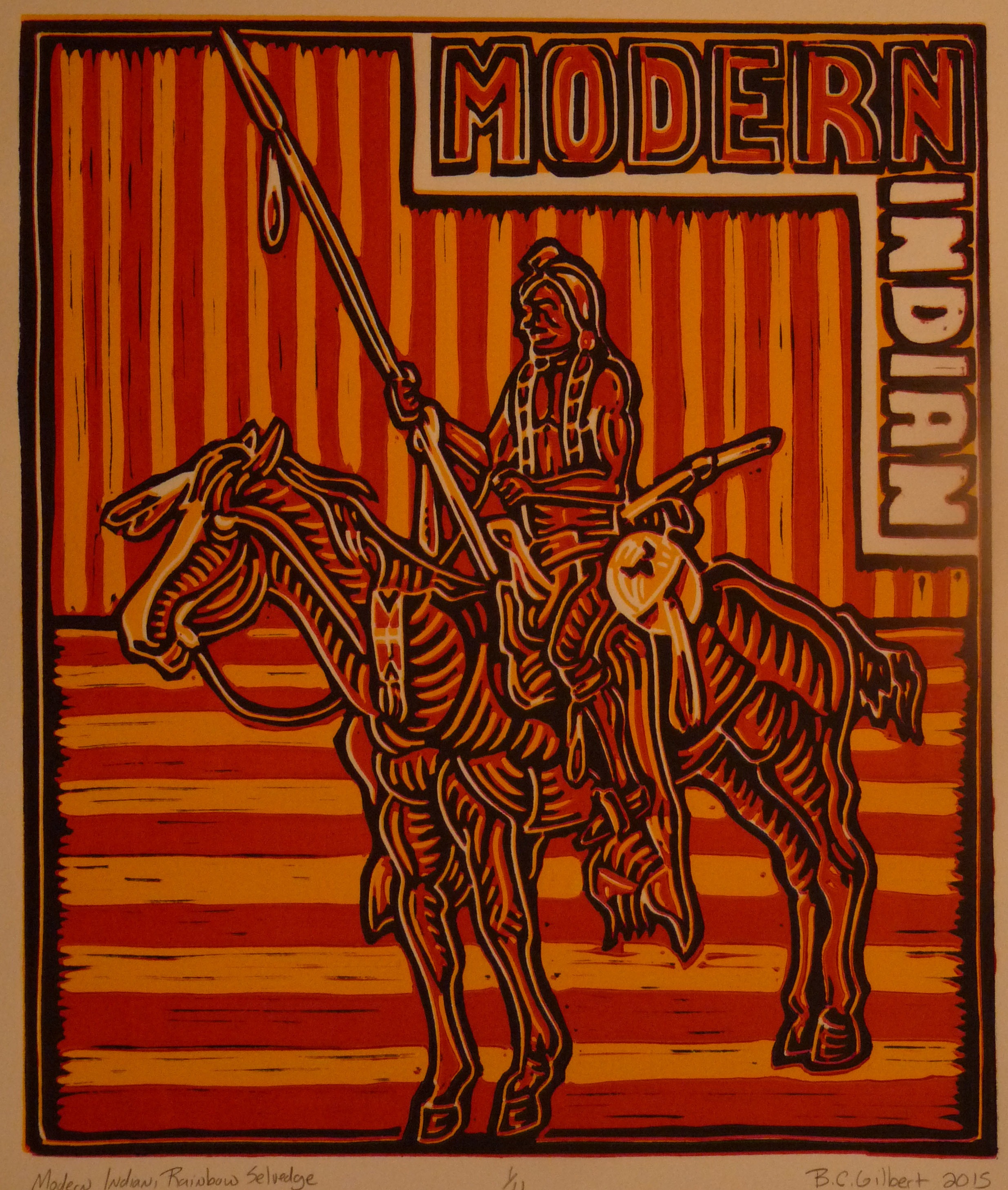 Modern Indian, Rainbow Selvedge 2015