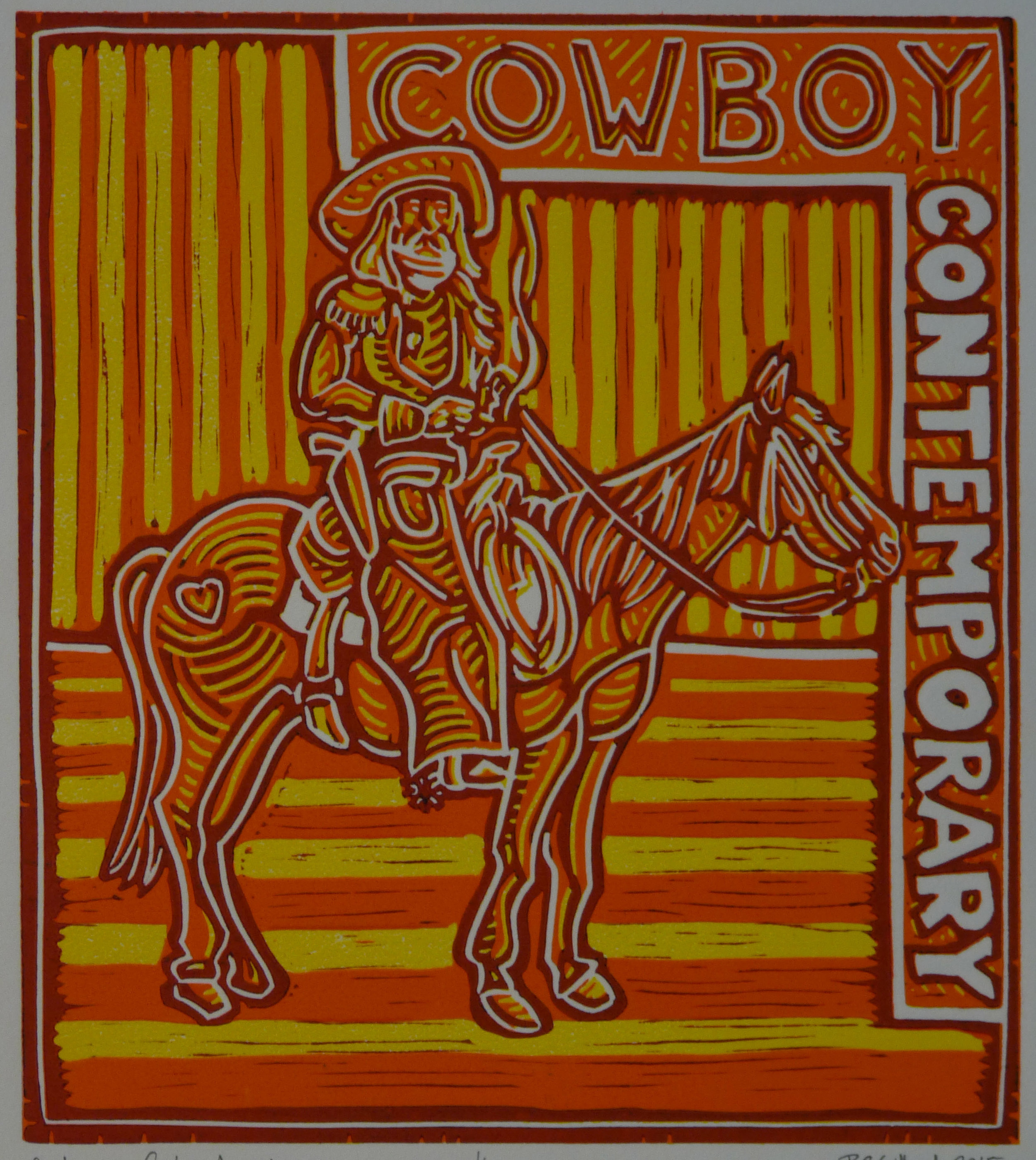Contemporary Cowboy, Apricot 2014