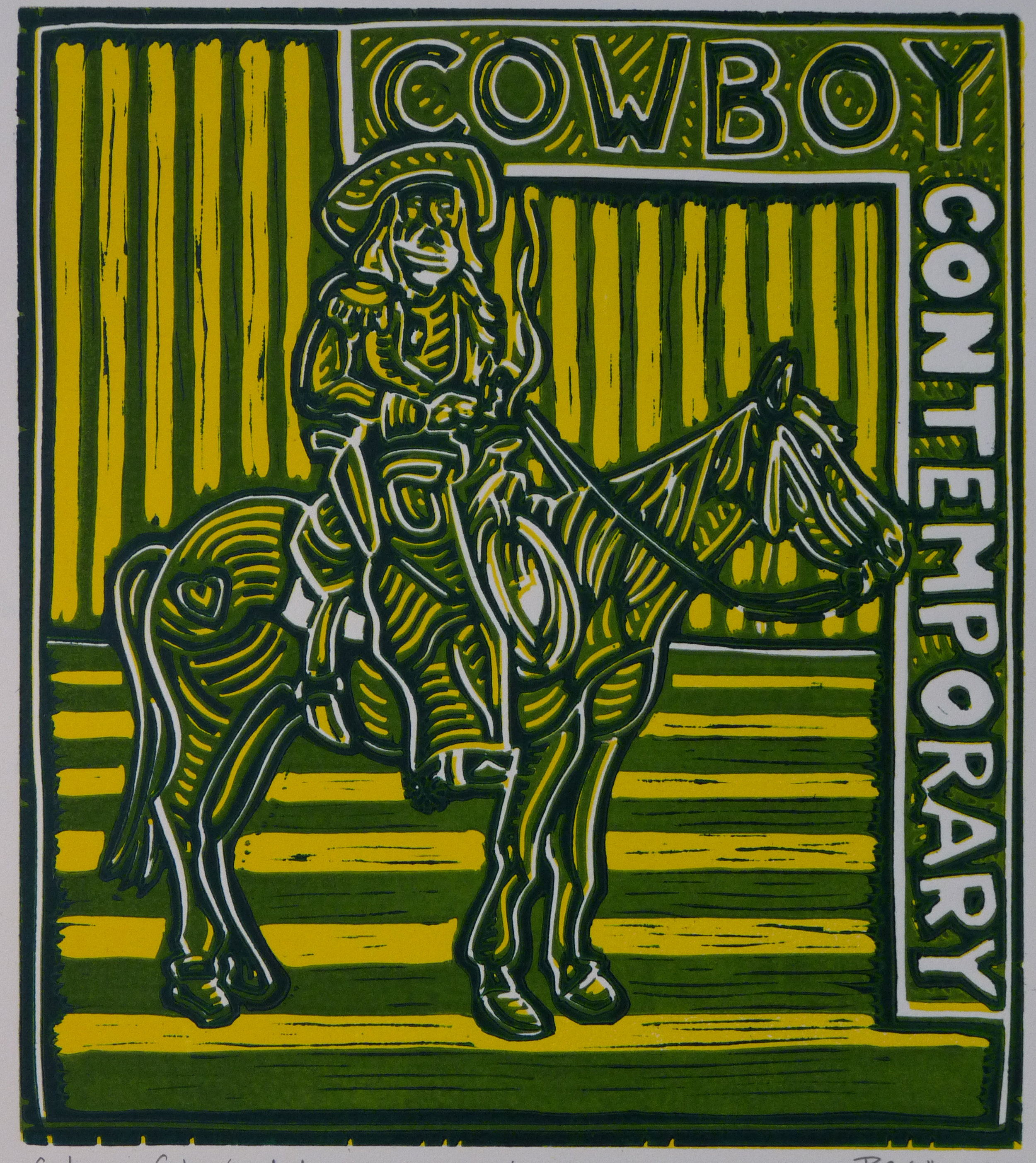 Contemporary Cowboy, Green Apple 2014