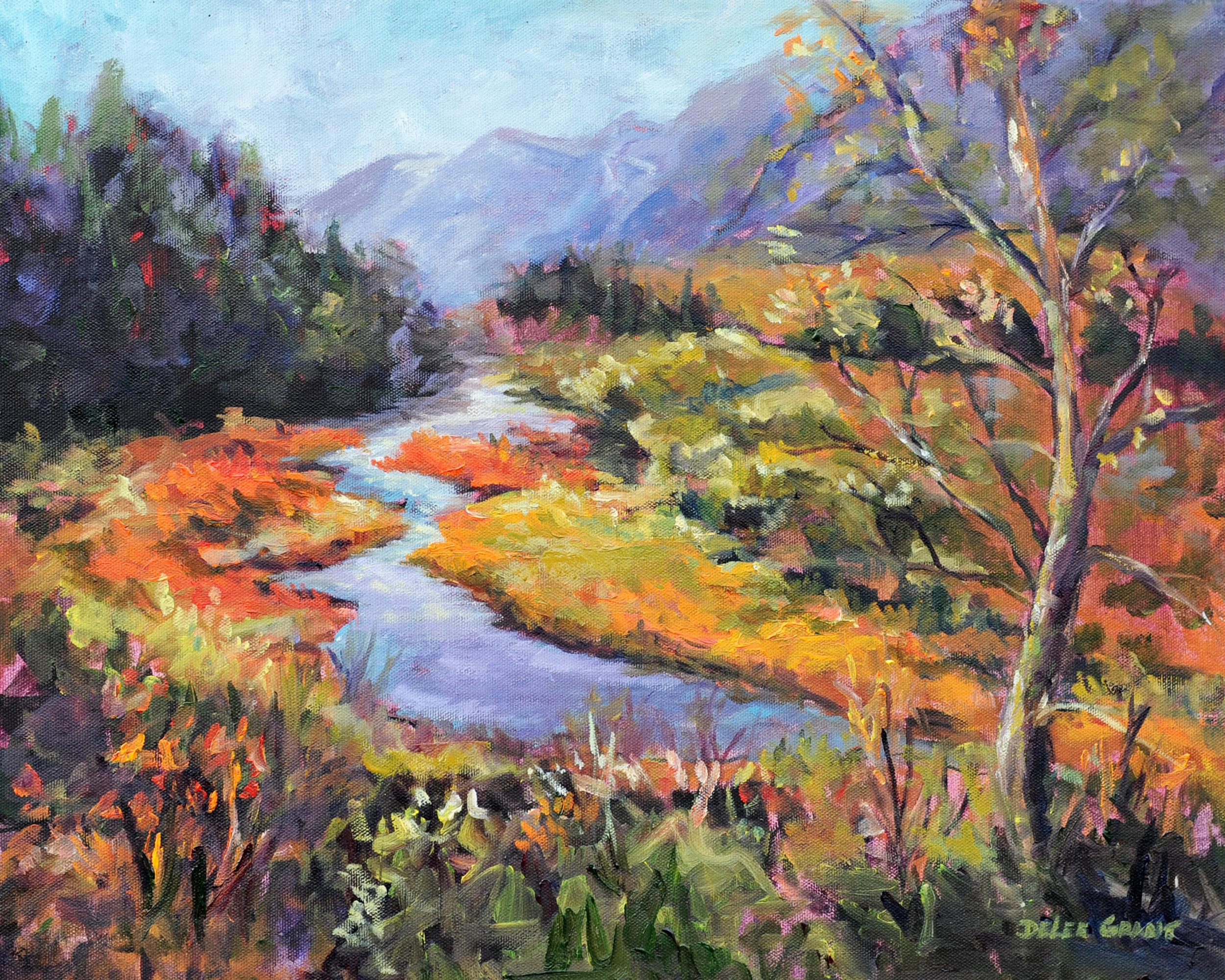 """Autumn Blaze"", oil, 16x20"