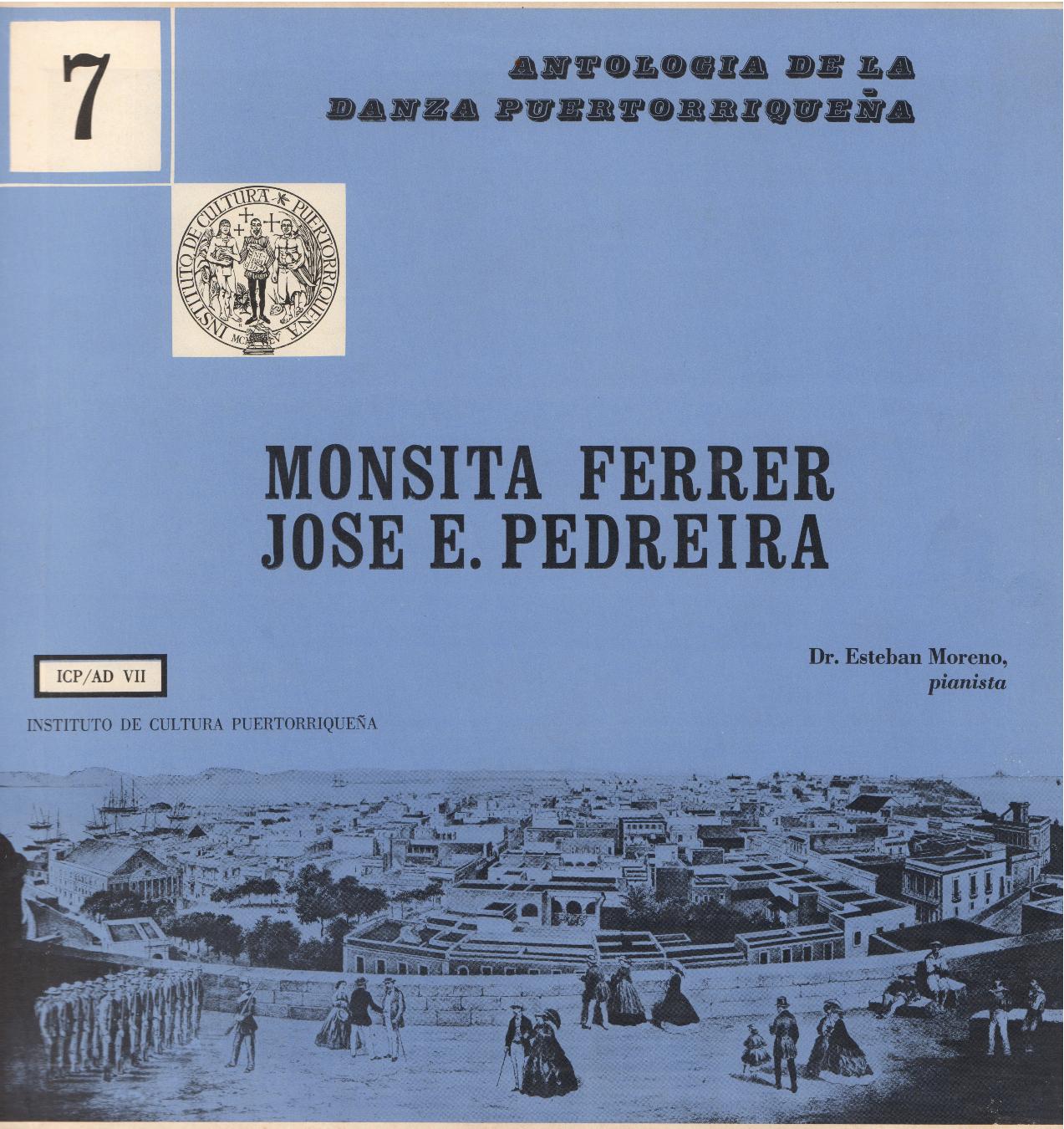 Danzas de Monsita Ferrer y José E. Pedreira