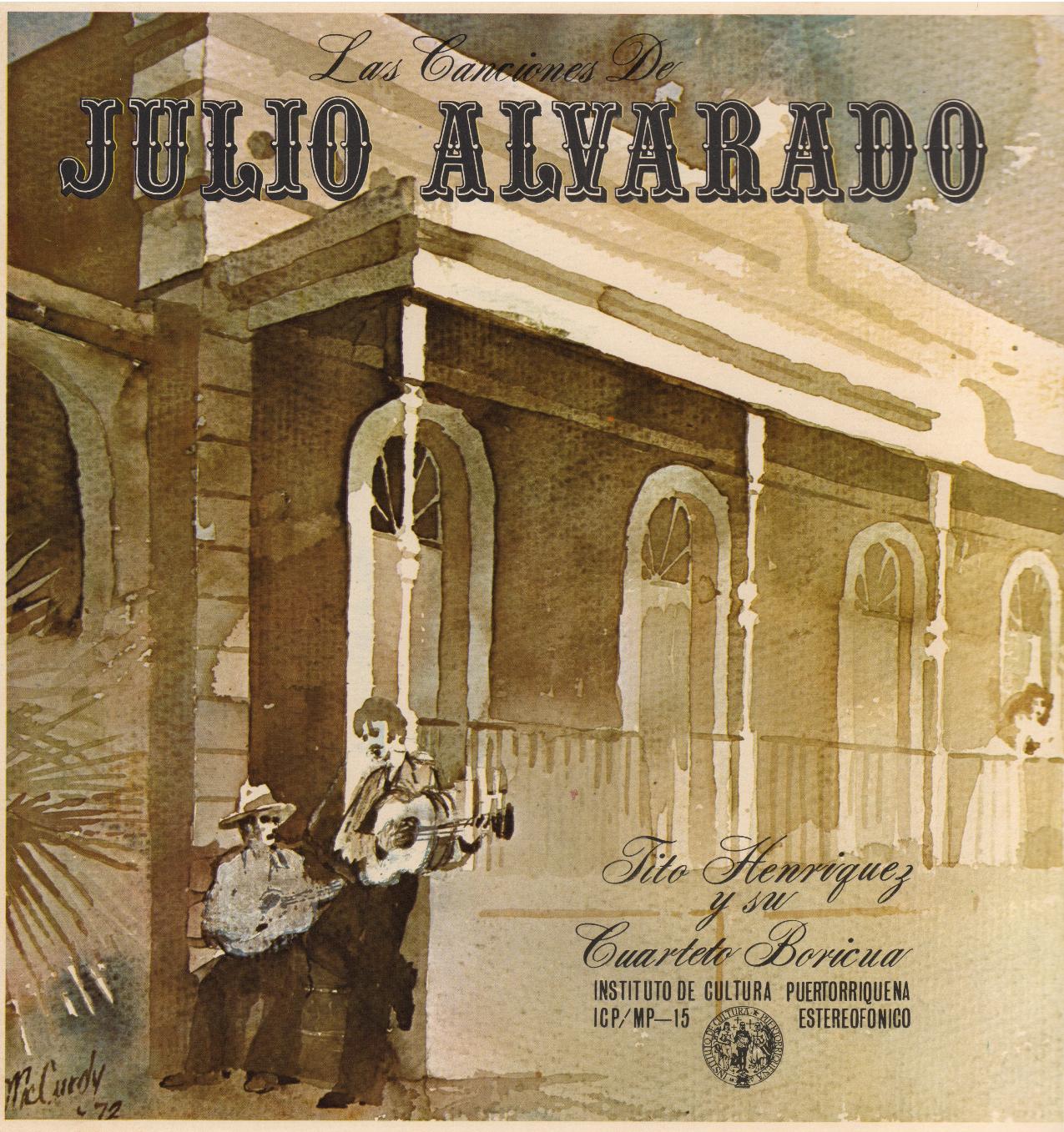 Las Canciones de Julio Alvarado