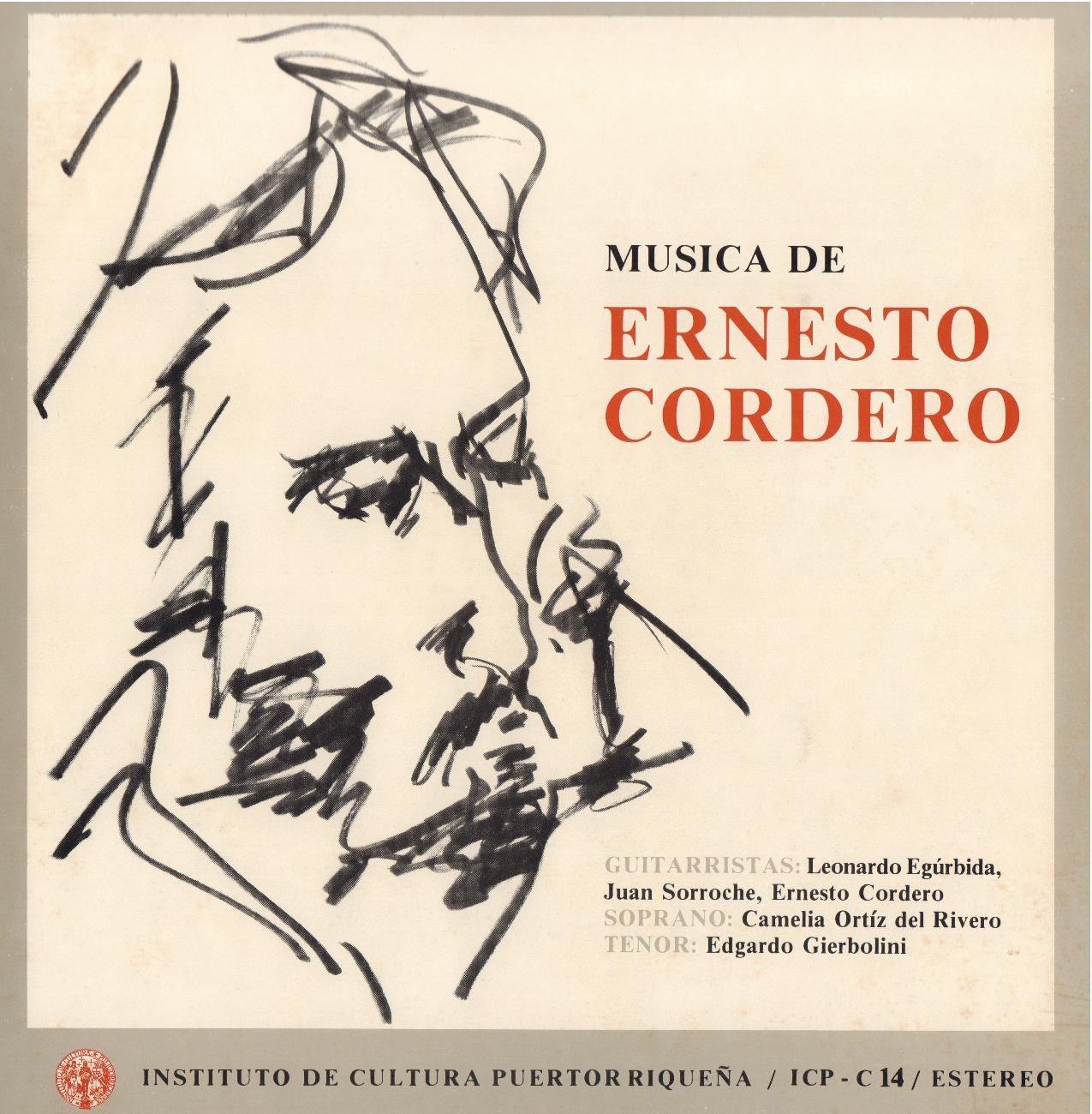 Música Contemporánea: Música de Ernesto Cordero
