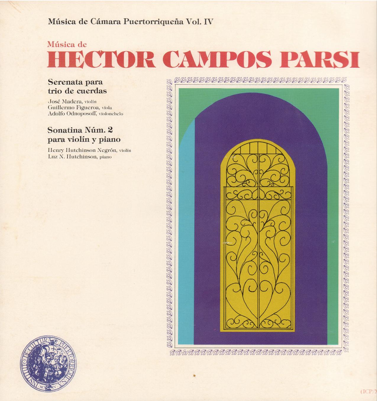 Música de Héctor Campos Parsi