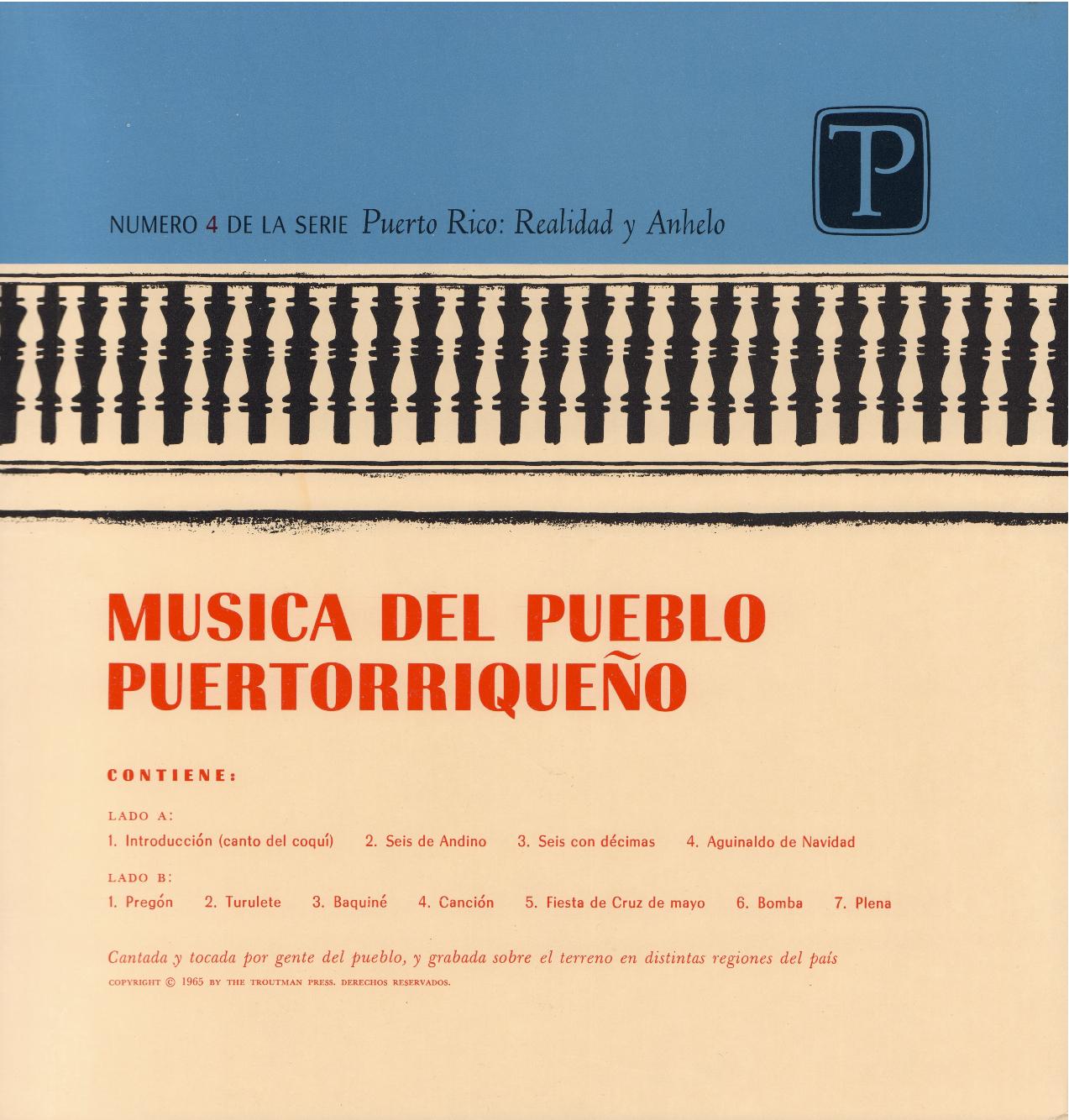 Música del Pueblo Puertorriqueño