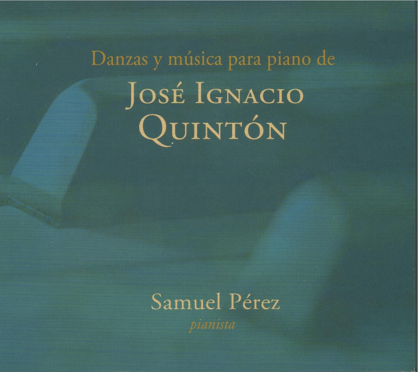 ICP/G-2015-1: Danzas y música para piano de José Ignacio Quintón