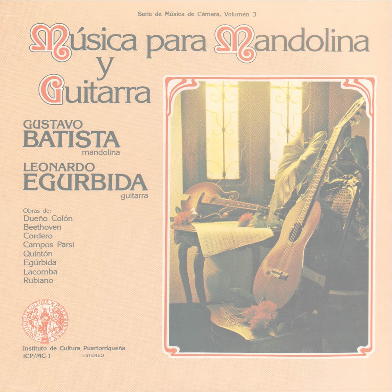 Música para Mandolina y Guitarra - Batista y Egúrbida