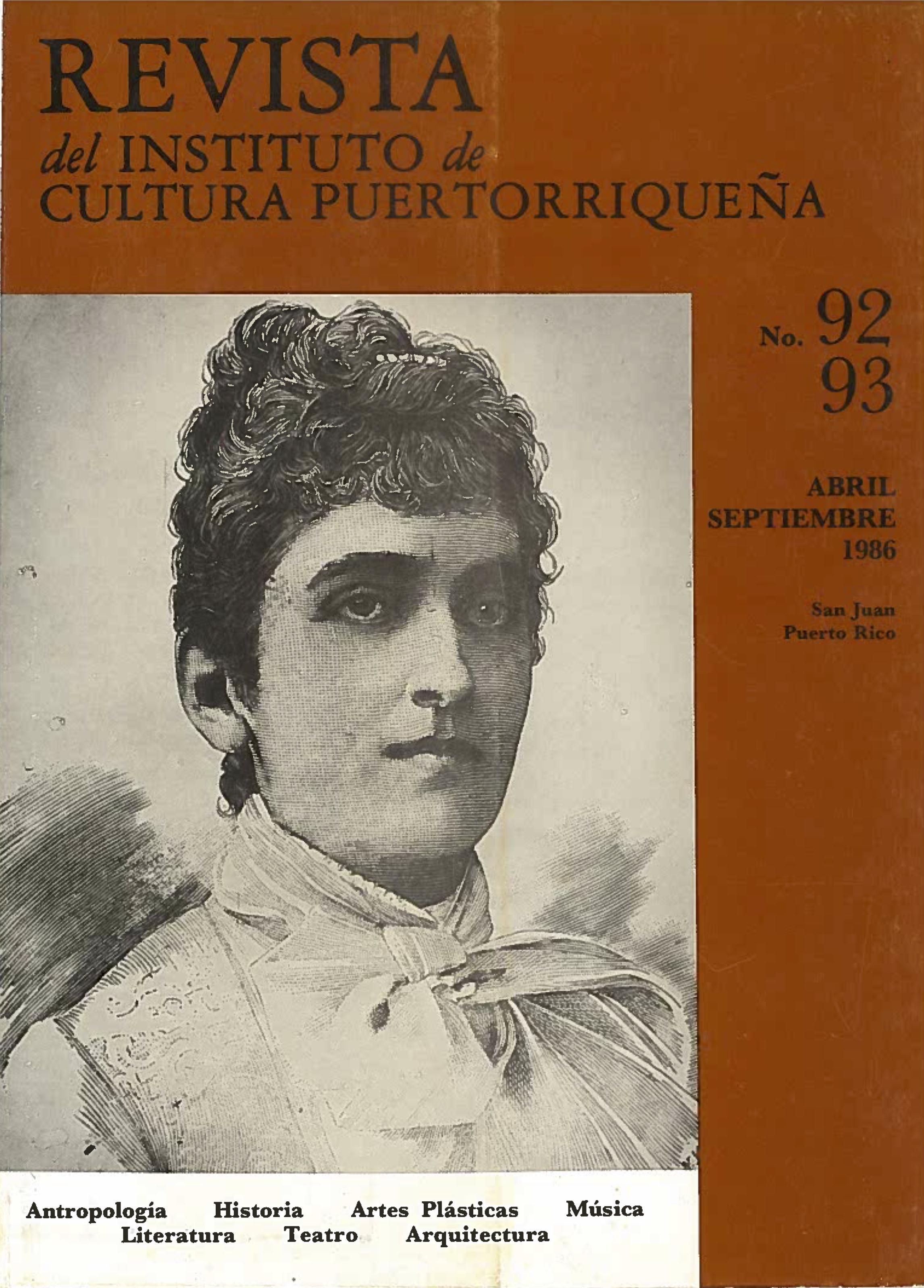 Número 92-93 / 1986