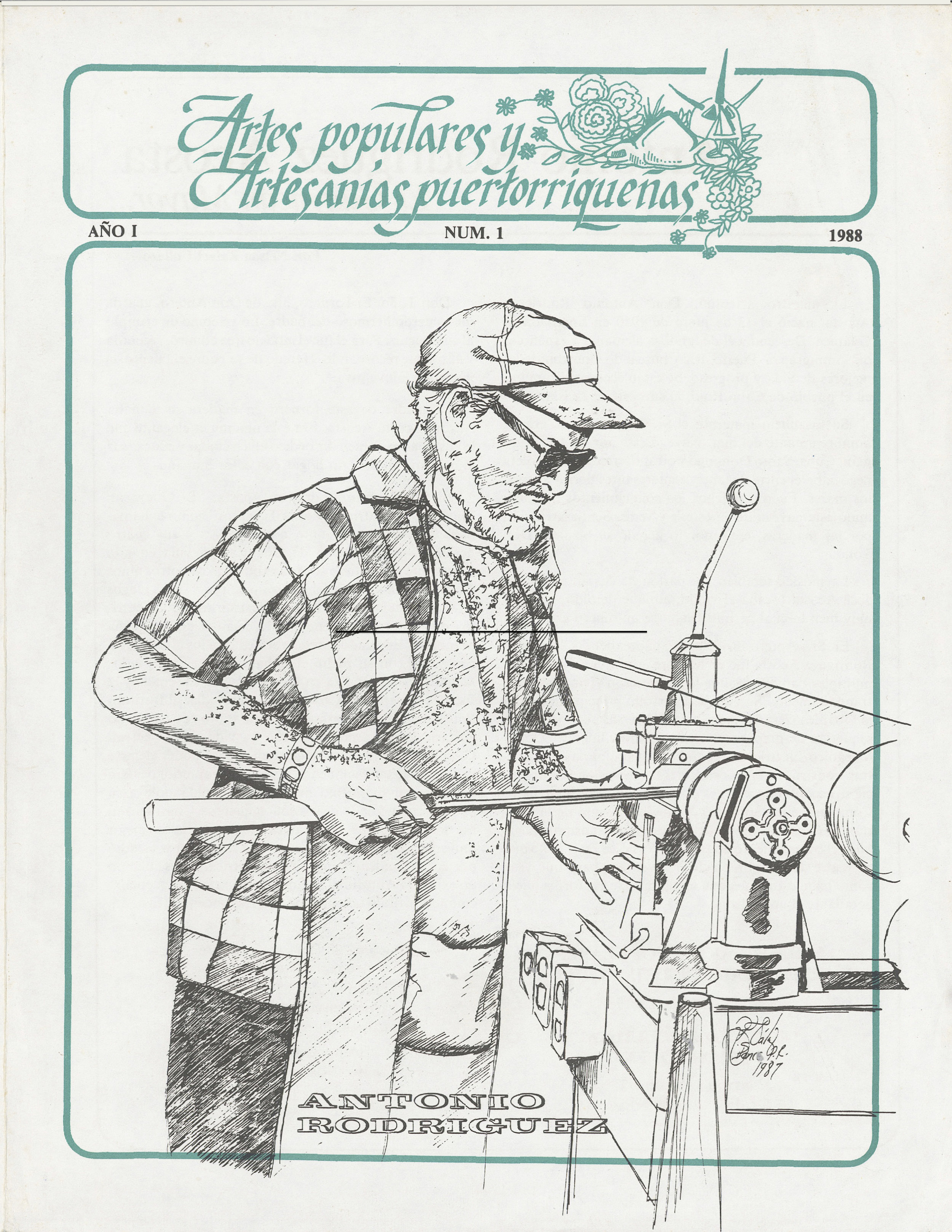 Boletín de Artes Populares, Suplemento Especial | 1988