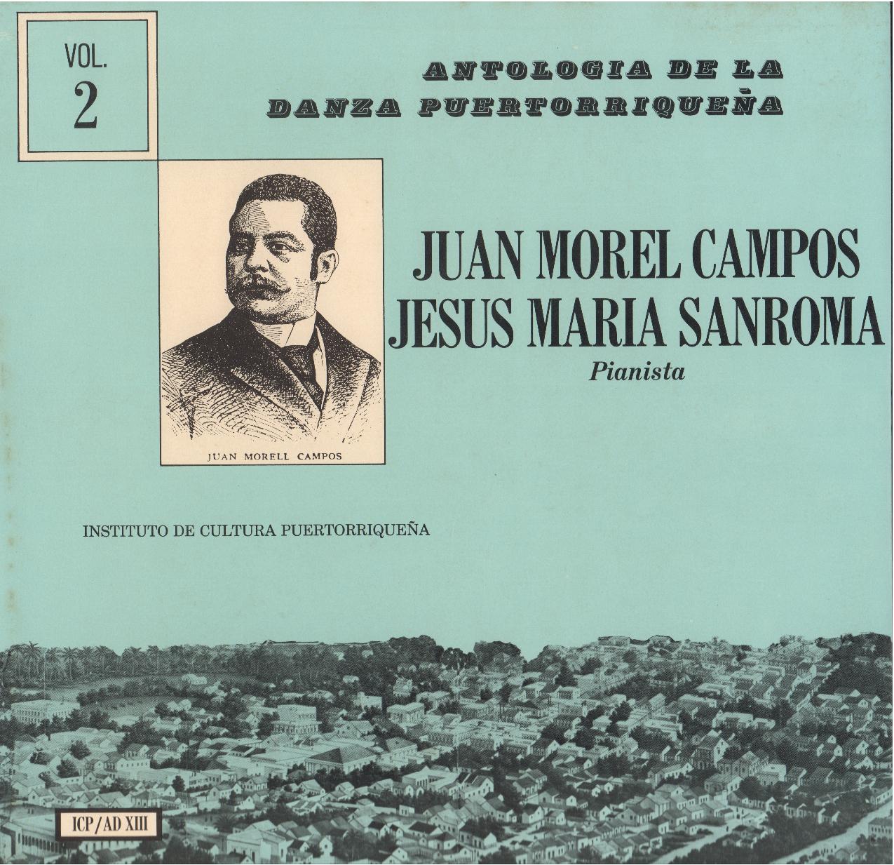 Danzas de Morel Campos Vol. 2